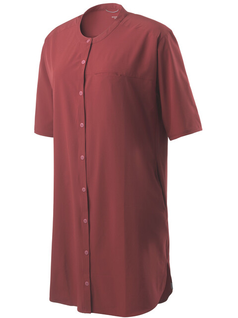 Houdini W's Trail Shirt Dress Pava Red